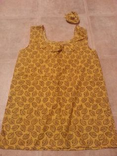 Toddler 60s style dress
