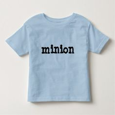 #Funny Minion Toddler Tee Shirt - #giftideas for #kids #babies #children #gifts #giftidea