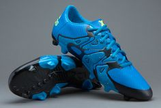 uk availability 1058f 20ed6 adidas X 15.3 FG AG - Solar Blue Solar Yellow Core Black