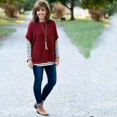 This oldnavy poncho is lightweight enough for early fall buthellip