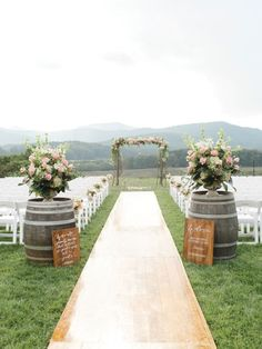 Elegant outdoor wedding decor ideas on a budget 08