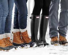 I could handle snow with cute boots like these!