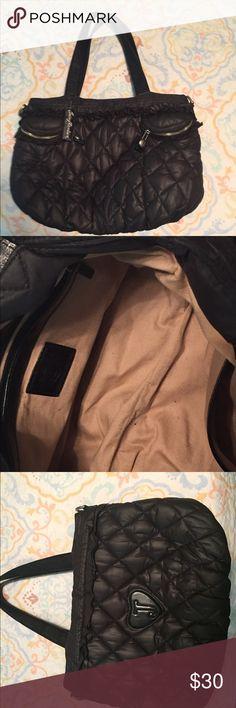 Juicy Couture handbag Black juicy handbag. Great condition. Extra large Juicy Couture Bags Totes