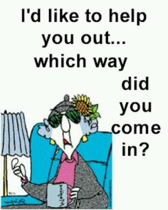 Maxine.... Ever had a visitor or 2 like this?!