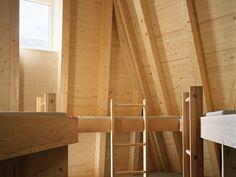 New Monte Rosa Hut, Zermatt Zermatt, Hotel In Den Bergen, Bunk Beds For Girls Room, Interior And Exterior, Interior Design, Refuge, Hotels, Nordic Home, Ideas