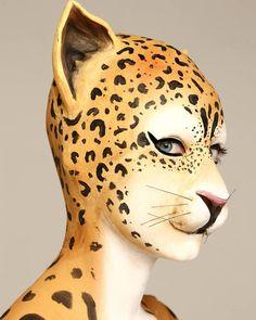 """Gefällt 123 Mal, 3 Kommentare - Rebeca Sanchez Hernandez (@rebesh_15) auf Instagram: """"Leopard Make Up 💄 @_monica0309_ #laopard #bodypaint #makeup #makeupartist #profesional #work…"""""""