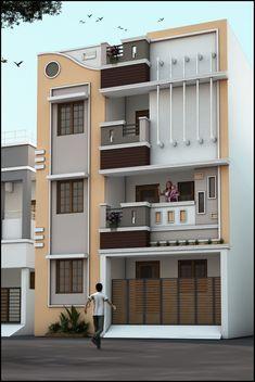 3 Storey House Plans - 16 3 Storey House Plans, House Design Plan 7 with 5 Bedrooms 3 Storey House Design, Duplex House Design, House Front Design, Small House Design, Apartment Design, Apartment Living, Living Room, Duplex Apartment, Indian Home Design