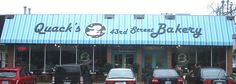 Quack's 43rd Street Bakery, delicious desserts and coffee <3