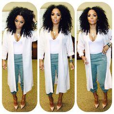 Rasheeda @rasheedadabosschick Sunday brunch attire