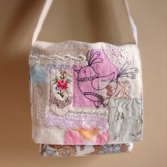 Vintage fabric bag, by Roxy Creations