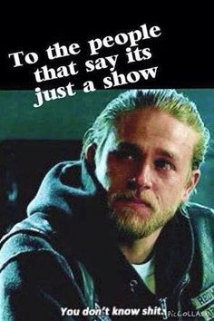 I agree, it was more than just a show. I grew to love and then hate him