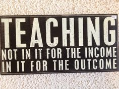 This  wood box quote sign makes a great teachers gift.  We offer it for $18.00.  Price does not include shipping.