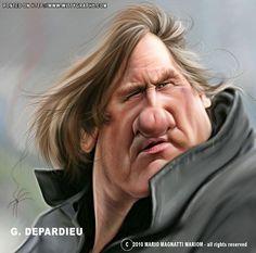 Gerard Depardieu by mariom