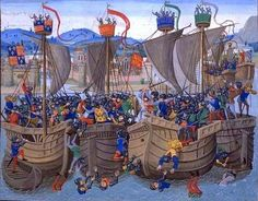 The Battle of Sluys, also called Battle of l'Ecluse, was a sea battle fought on 24 June 1340 as one of the opening conflicts of the Hundred Years' War between England and France.