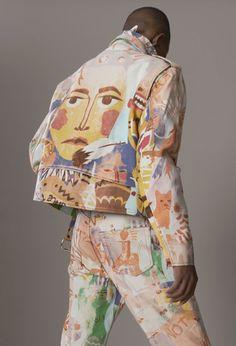 Fiction and fashion collide in this stellar menswear collection. Fashion Mode, Diy Fashion, Ideias Fashion, Street Fashion, Mens Fashion, Fashion Design, School Fashion, Fashion Clothes, Custom Clothes