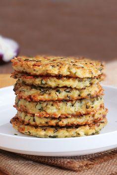 Ziołowe placki ryżowe - Wiem co jem Healthy Dishes, Healthy Recipes, Salty Foods, Dinner, Vegetables, Veggie Burgers, Label, Eat, Search