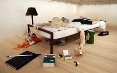 Will Ryman's 'The Bed' Art Installation