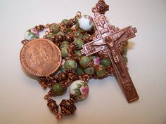 Unbreakable Rosary of Pope John Paul II and Our by robertd5198, $285.00