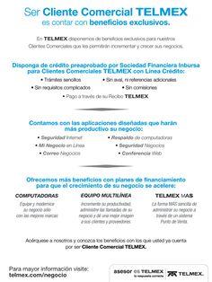 Impresos para Telmex Empresarial.