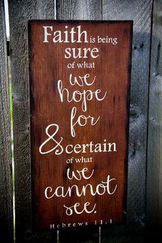We all need faith