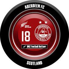 DNZ Football Buttons: Aberdeen FC