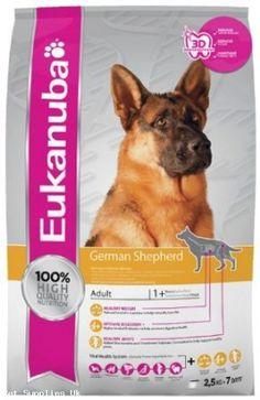 Eukanuba Breed Nutrition German Shepherd Dry Food 2.5 kg - Food - Dog