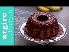 Κέικ μπανάνα με σοκολάτα από την Αργυρώ Μπαρμπαρίγου | Ένα από τα ωραιότερα κέικ με μπανάνες και κρέμα σοκολάτας. Ειδικά τα παιδιά θα ξετρελαθούν!