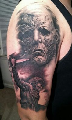 Michael Myers tattoo