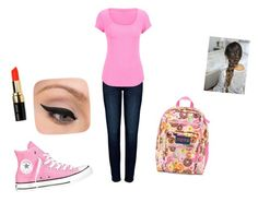 """""""Back to school outfit :)"""" by lc-cordeiro on Polyvore"""