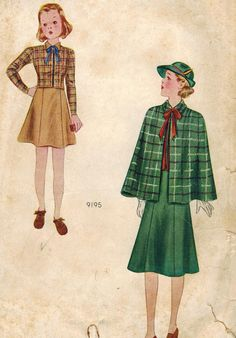 1930s Pictorial Review 9195 Vintage Sewing by midvalecottage, $30.00
