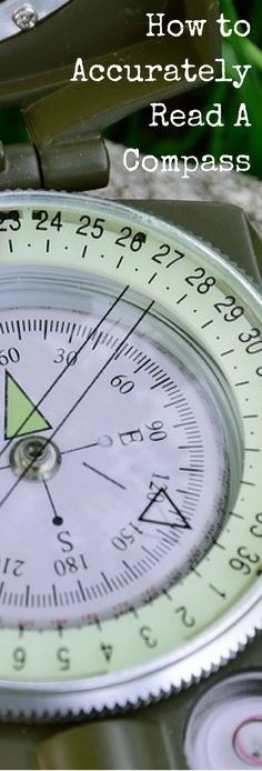 How to accurately read a compass                                                                                                                                                                                 More