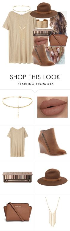 """Beautifully Brown"" by shaniq123 ❤ liked on Polyvore featuring MANGO, Hokus Pokus, Urban Decay, rag & bone, Michael Kors, Gemelli and Panacea"