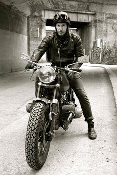 Amazing look - moto style