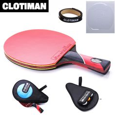 [!!] ดราคา [!!] ซอทไหน Best quality carbon bat table tennis...