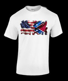 American Dixie T-shirt by SouthernGumptionTees on Etsy