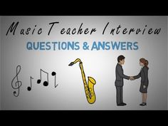 Music Teacher Interview Questions & Answers Video Teaching Interview Questions, Question And Answer, This Or That Questions, Teacher Interviews, Teaching Career, School Levels, Classroom Posters, Elementary Music, Teaching French