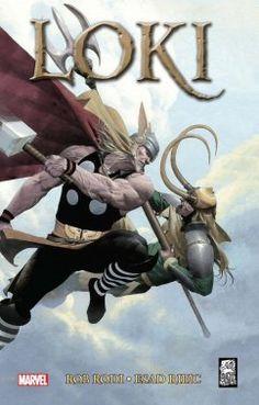 """Robert Rodi (sc.), Esad Ribić (rys.), """"Loki"""", Mucha Comics, 2016."""