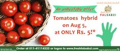 Buy #fresh #vegetables, #fresh #fruits and #exotic #fruits online in #Delhi #NCR with easy and fast home delivery in the best Prices from #Freshfalsabzi.