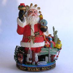 The International Santa Claus Collection - New York Santa - SC109.
