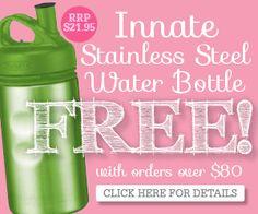 Free Stainless Steel Water Bottle This Week Healthy Mummy, Stainless Steel Water Bottle, Free