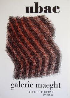 Raoul Ubac Original Artist Poster 1973 – Art Vintage Store Ltd Vintage Prints, Vintage Posters, Poster Design Inspiration, Room Inspiration, Museum Poster, Creative Poster Design, Exhibition Poster, Fine Art Prints, Poster Prints