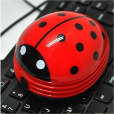 Cute beetle shaped portable laptop vaccum dust cleaner