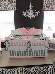 This is exactly how we are going to decorate Savannah's room.. Except with a toddler bed!