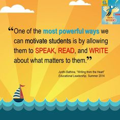 """Jyothi Bathina shares a few powerful ways that can motivate students in her Summer 2014 Educational Leadership article, """"Writing from the Heart."""""""