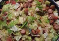 Smoked Sausage & Cabbage Recipe -  Very Delicious. You must try this recipe!