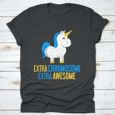 Buy yours Extra Awesome Unicorn Down Syndrome Awareness T-Shirt now today at Panda Gifts at lowest price if you are looking for products related to Panda Gifts, Down Syndrome Awareness, Sarcastic Humor, Digital Prints, Unicorn, Awesome, Cute, T Shirt, Kids