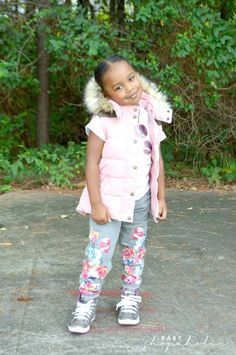 """""""Who doesn't love a puff vest?...This look is perfect for the school playground."""" -Trina of @babyshopaholic 