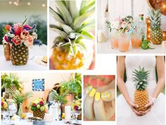 Pineapple in your wedding