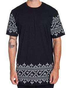 Urban streetwear label Nemis Clothing always create stylish pieces with a timeless feel. The Primal Longline Tee is constructed in cotton jersey, giving it a soft feel and great quality. The hemline a