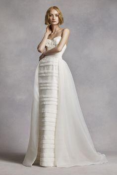 White by Vera Wang - jurk met druppelzoom